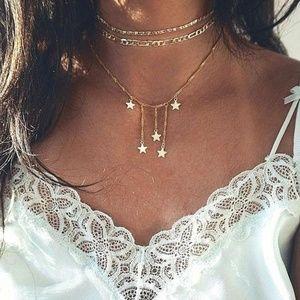 Jewelry - Star  Drop Style Choker